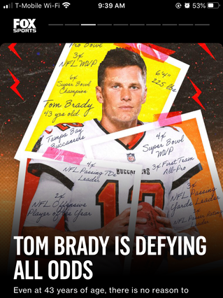 Tom Brady is Defying All Odds