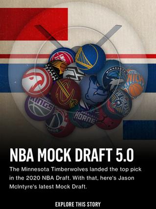 NBA Mock Draft 5.0