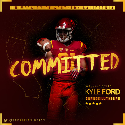 Kyle Ford Commitment Graphic