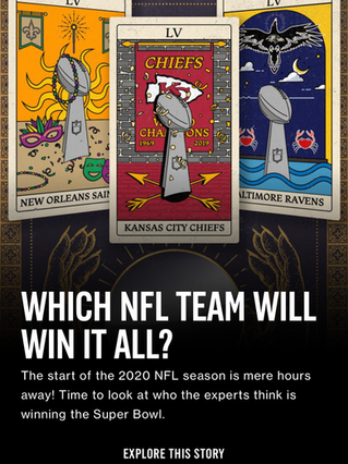 Which NFL Team Will Win It All?