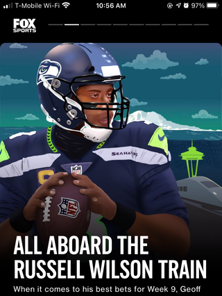 All Aboard the Russell Wilson Train