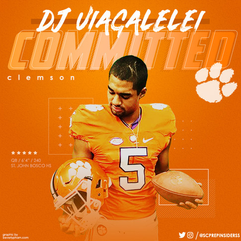 DJ Uiagalelei Commitment Graphic
