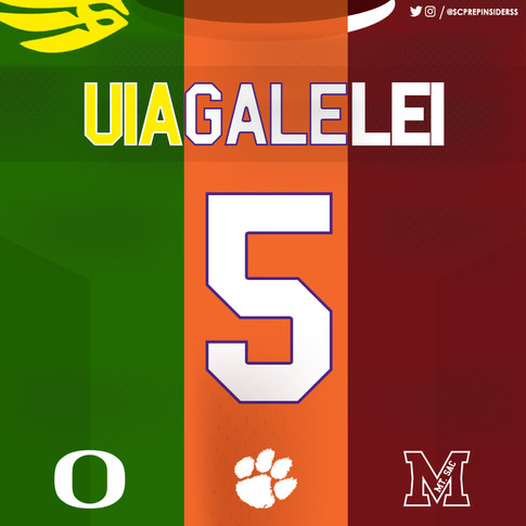 DJ Uiagalelei Top 3 Commitment Choices