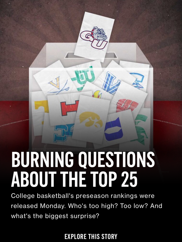 Burning Questions About the Top 25