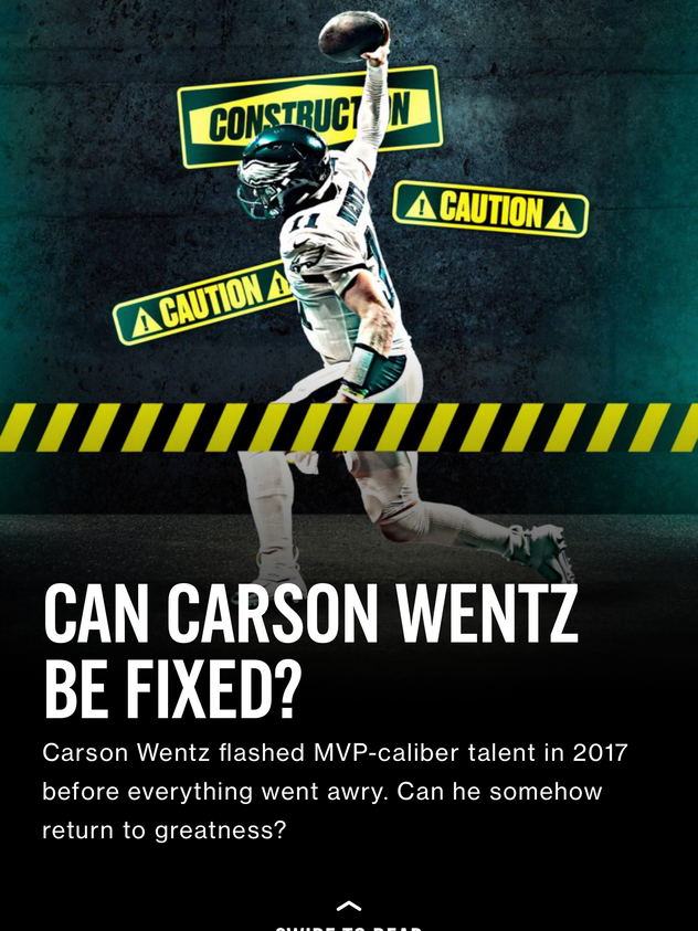 Can Carson Wentz Be Fixed?