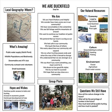 Buckfield MFC Community Poster #2