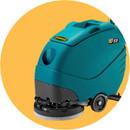 Strojové čištění tvrdých podlah