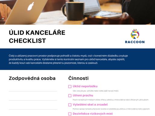 Jak na samostatný úklid kanceláře (checklist)