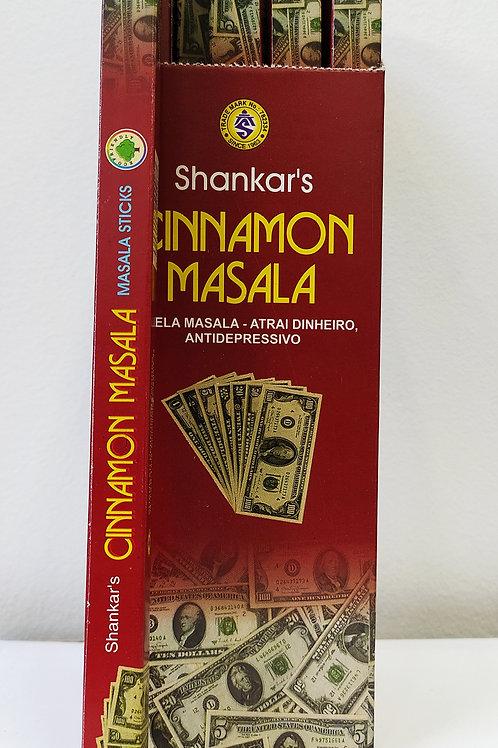 CINNAMON MASSALA (CANELA) - INCENSO INDIANO SHANKAR