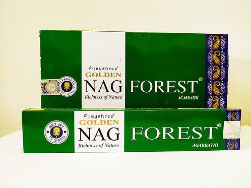 GOLDEN NAG FOREST - Incenso Indiano Massala (Valor Unitário)