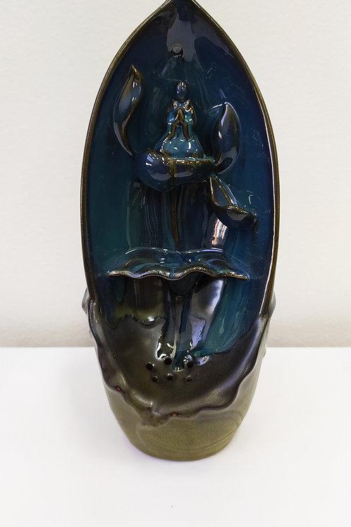 Incensário Cascata de Cerâmica