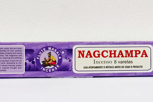 NAG CHAMPA MASSALA - Incenso Indiano Flute Brand