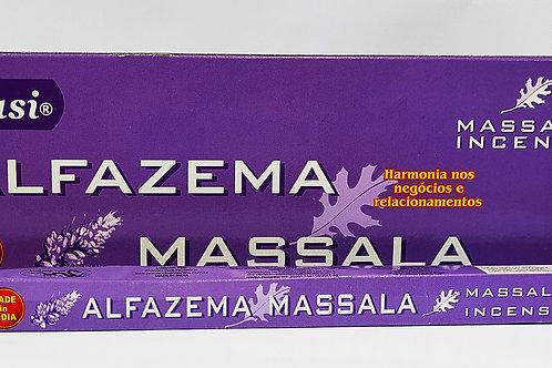 ALFAZEMA MASSALA - INCENSO INDIANO