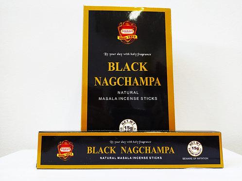 BLACK NAG CHAMPA - Incenso Indiano De Massala (Valor Unitário)