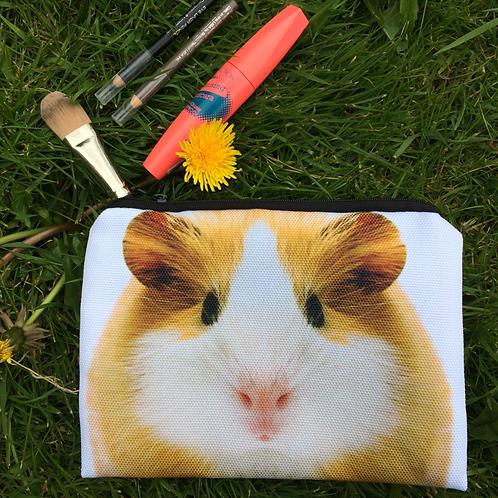 Guinea pig cosmetic bag/pencil case