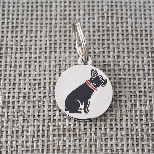 Sweet William French Bulldog Dog tag