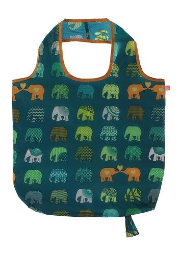 Elephant herd roll up bag