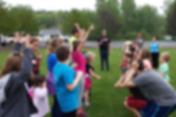 Children who attend Augustana Lutheran Church can be par of the area's Organic Youth program.