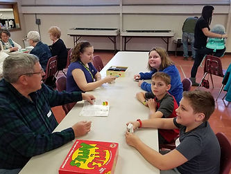 Augustana Lutheran Church in the Town of Tonawanda has intergenerational programs including family nights.