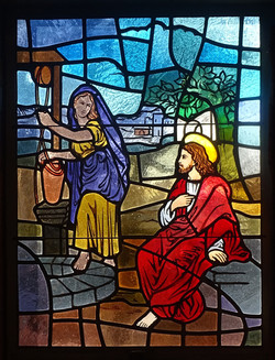 Augustana Lutheran stained glass