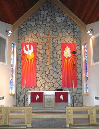 Alter at Augustana Lutheran Church