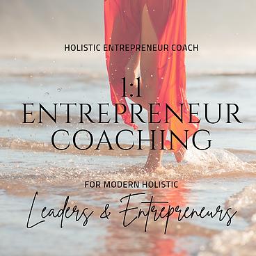 Holistic Entrepreneur Coaching