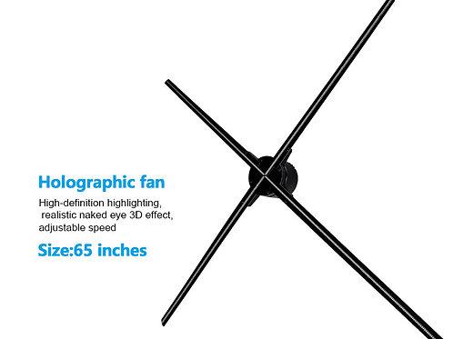 Clapsem Holo 3D  60 cm / 720 LED Fan ( Standard Resolution))