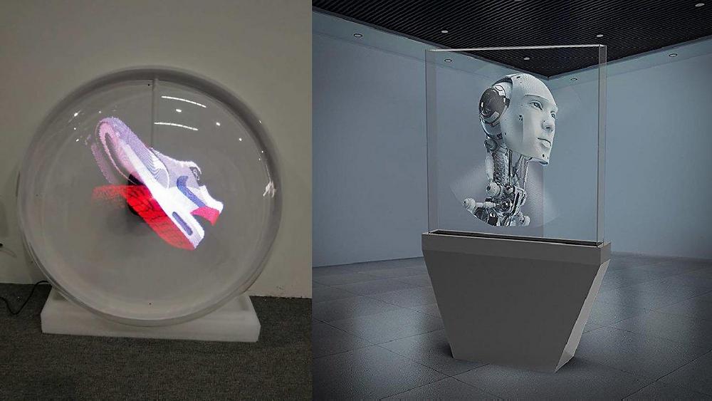 Clapsem Z3-65cm 3D hologram Fan