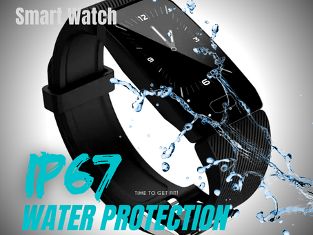 CLAPSEM COMMANDO OXIMETER IP67 SMARTWATCH - INDIA's FIRST COVID PROTECT Smart Watch.