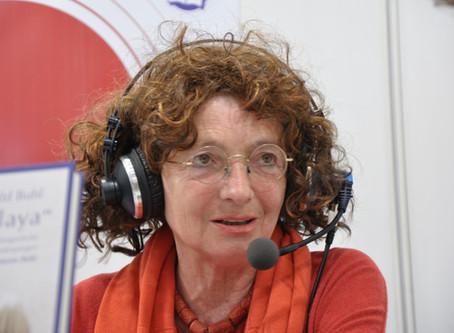 Kriemhild Buhl auf der Leipziger Buchmesse