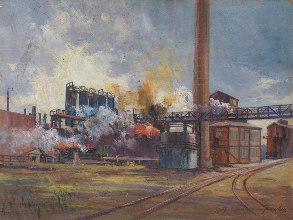 164.Will-Klinger-Franken.Industrieanlage