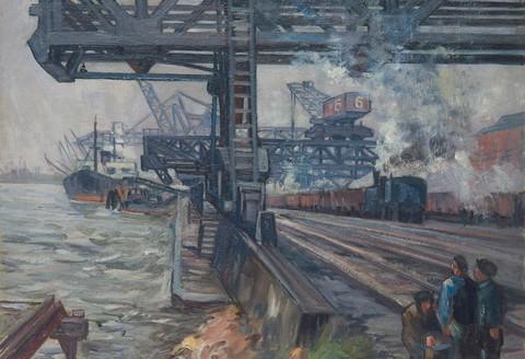 151.Will-Klinger-Franken.Hafenarbeiter-i