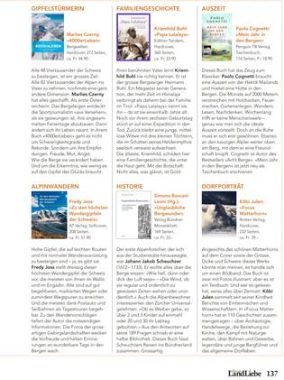 BergLiebe - Schweizer-Bergmagazin