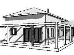 בית עם חצר רחבת ידיים