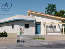 בית כפרי בבנייה מתקדמת