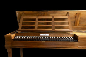5-octave clavichord by Friederici (1774) made by Renée Geoffrion