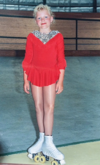 Rollerskating competition 1992