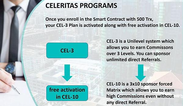Celeritas smart contract