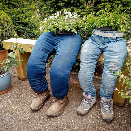 How To Make Denim Planters