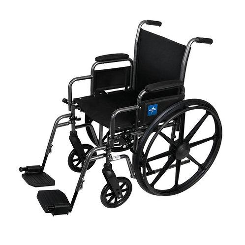 "K1 Basic Wheelchair 16"" DLA, S / A FOOT"