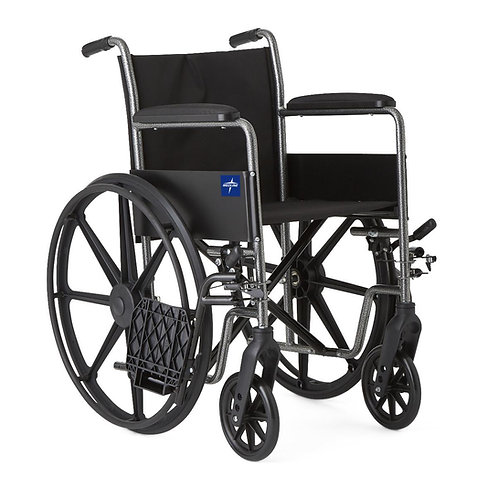 "K1 Basic Wheelchair 18"" FLA, S / A FOOT"