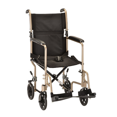19″ Steel Transport Chair