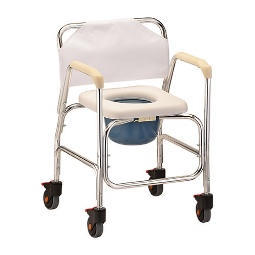 Mobile Shower Chair and Commode