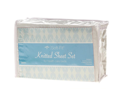 Soft-Fit Knitted Contour Sheet Set