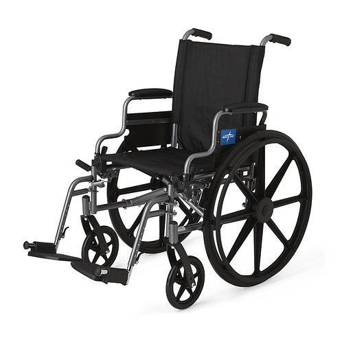 "K4 Basic Lightweight Wheelchair 20"", RDLA, S / A FOOT"