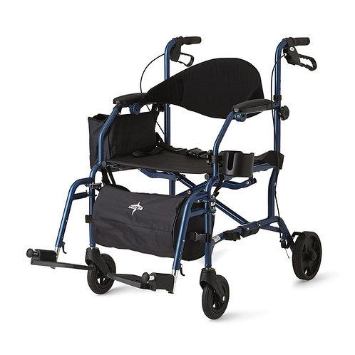Combination Rollator / Transport Chair
