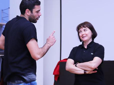 L'attrice Eljana Popova conclude il workshop alla Scuola di Recitazione della Calabria