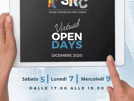 A Dicembre la SRC presenta i VirtualOPENDAYS