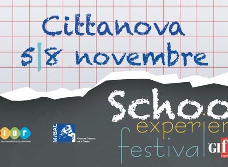 """Quattro tappe per l'itinerante """"School Experience Festival"""", organizzato dal team di Giffoni"""