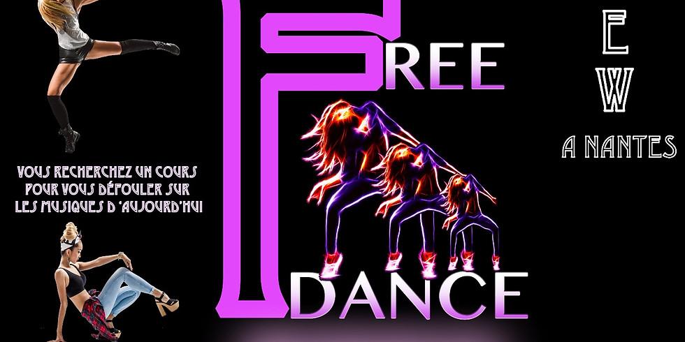 Pré inscription gratuite aux futurs stages de Free Dance